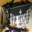 bag in Minibook 「ハロウィン」バック前面