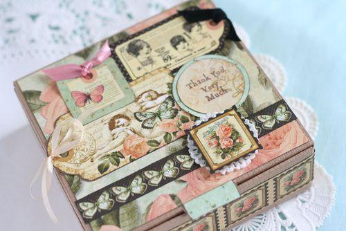 <母の日> BOXタイプのMINIBOOK
