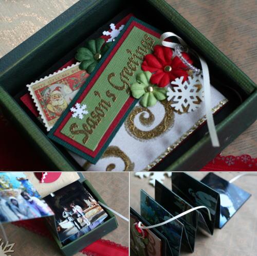 クリスマスのBOX入りMINIBOOK