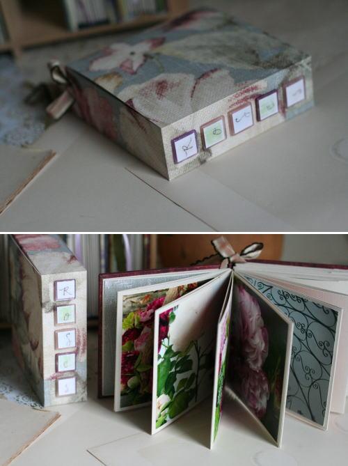 写真がたくさん貼れるMINIBOOK(中ページ)