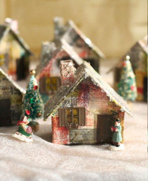 クリスマスのオブジェ「HOUSE」